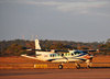 Lusaka, Zambia: Cessna 208B Grand Caravan, Fugro Airborne Surveys, note the geophysics instruments appendix - Lusaka / Kenneth Kaunda International Airport - LUN - photo by M.Torres